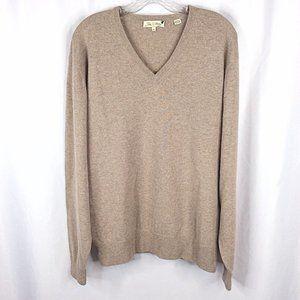 Peter Millar 100% Pure Cashmere V-Neck Sweater